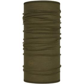 Buff Lightweight Merino Wool Neck Tube solid bark